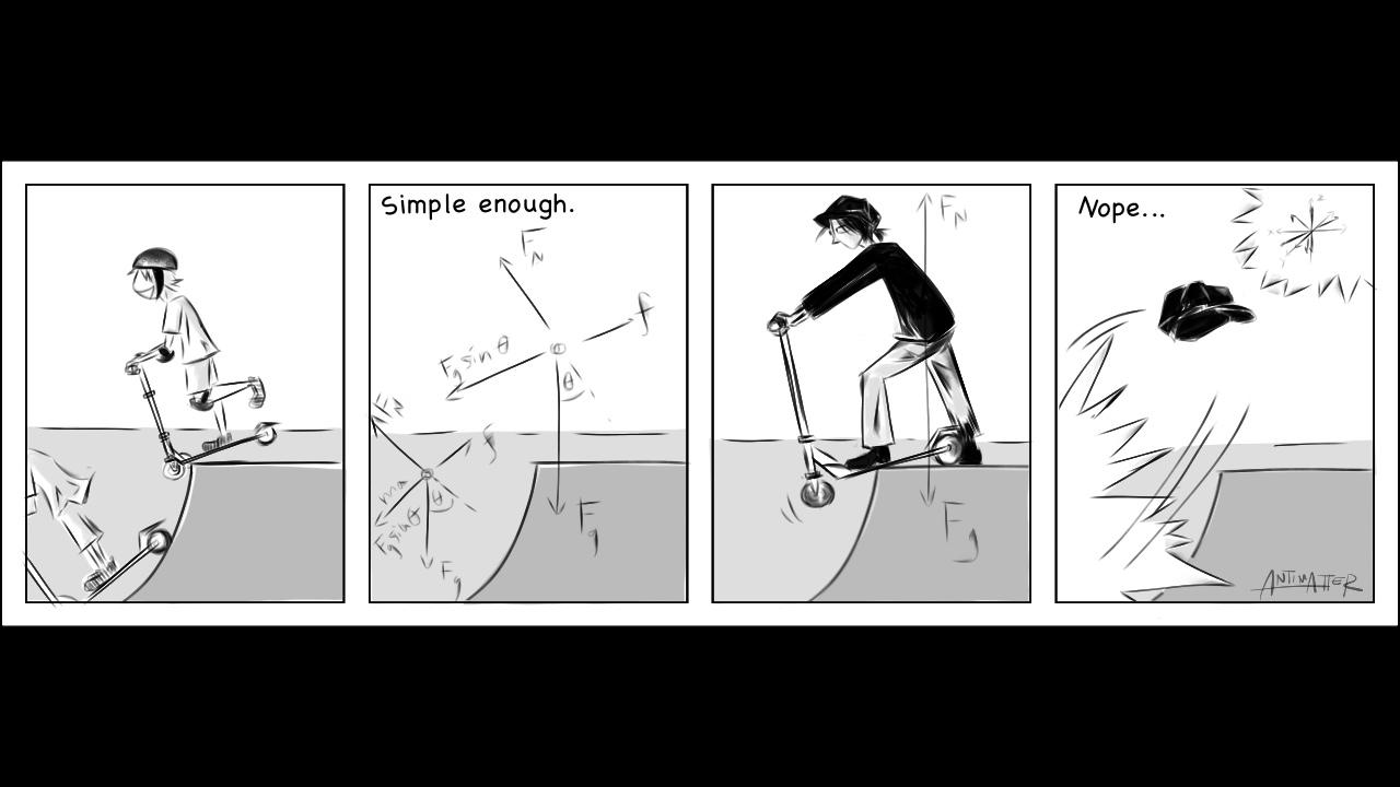 Physics Hurts