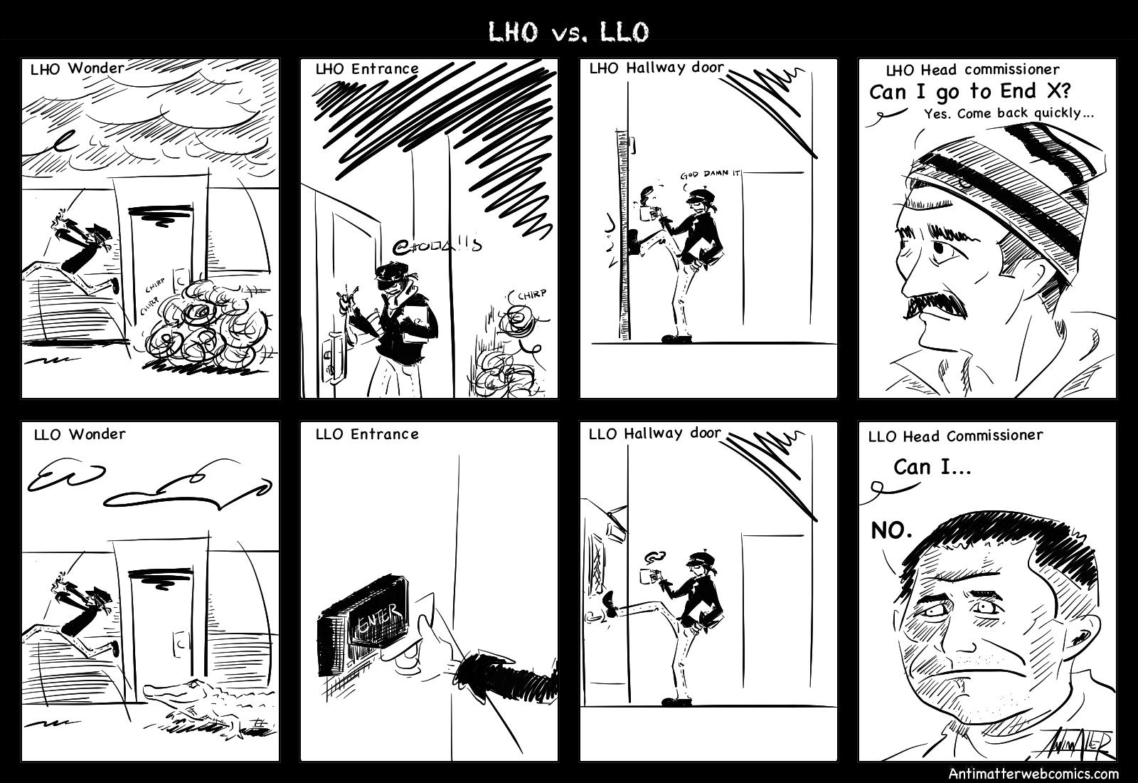 LHO vs. LLO