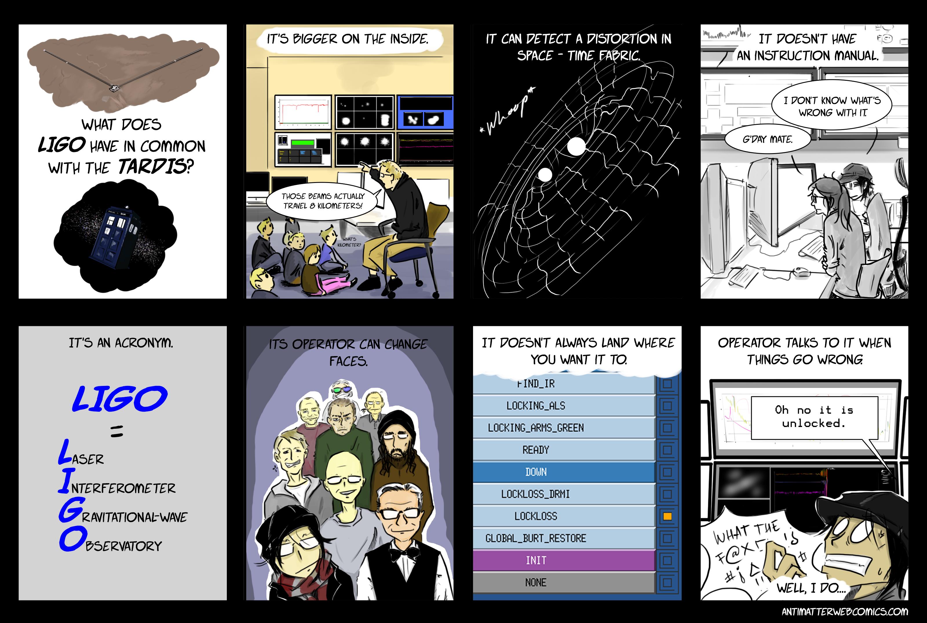 LIGO vs. TARDIS