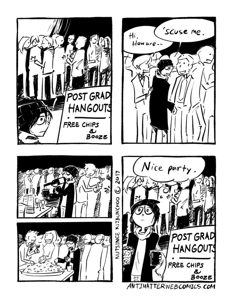 Postgrad Hangouts